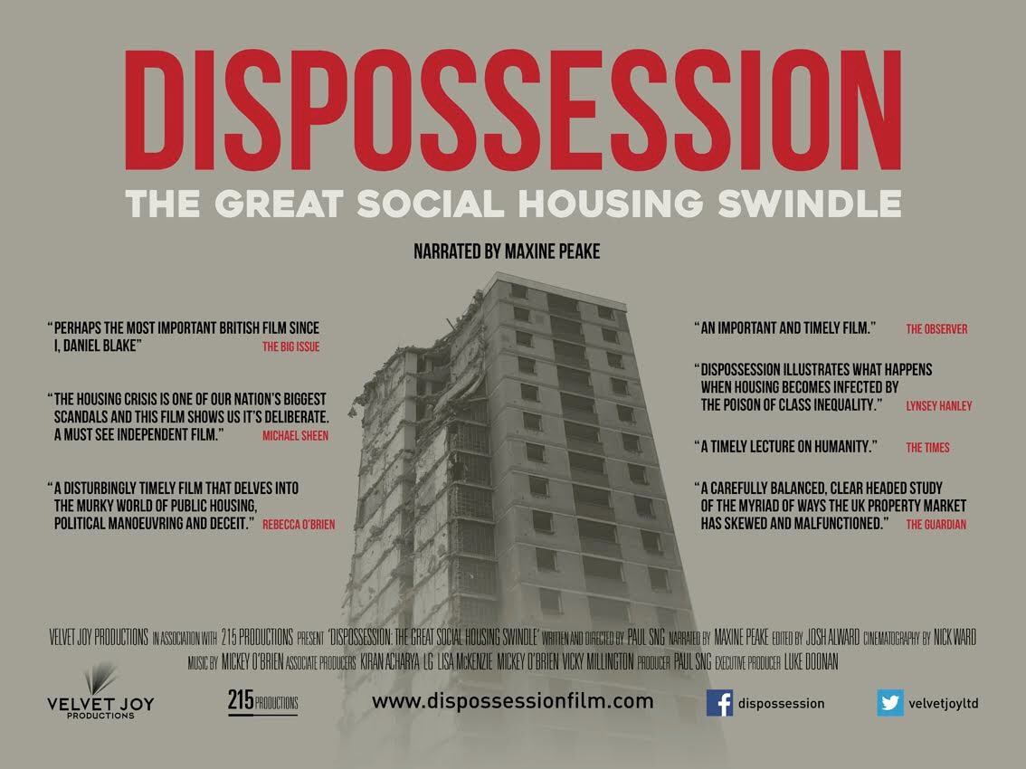 Dispossession: The Great Social Housing Swindle – Edinburgh Screening + Q&A