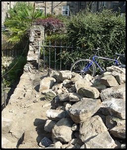 Rubble Wall Building